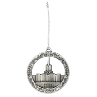 Oquirrh Mountain Temple Ornament In Ornaments D Rm Aat124