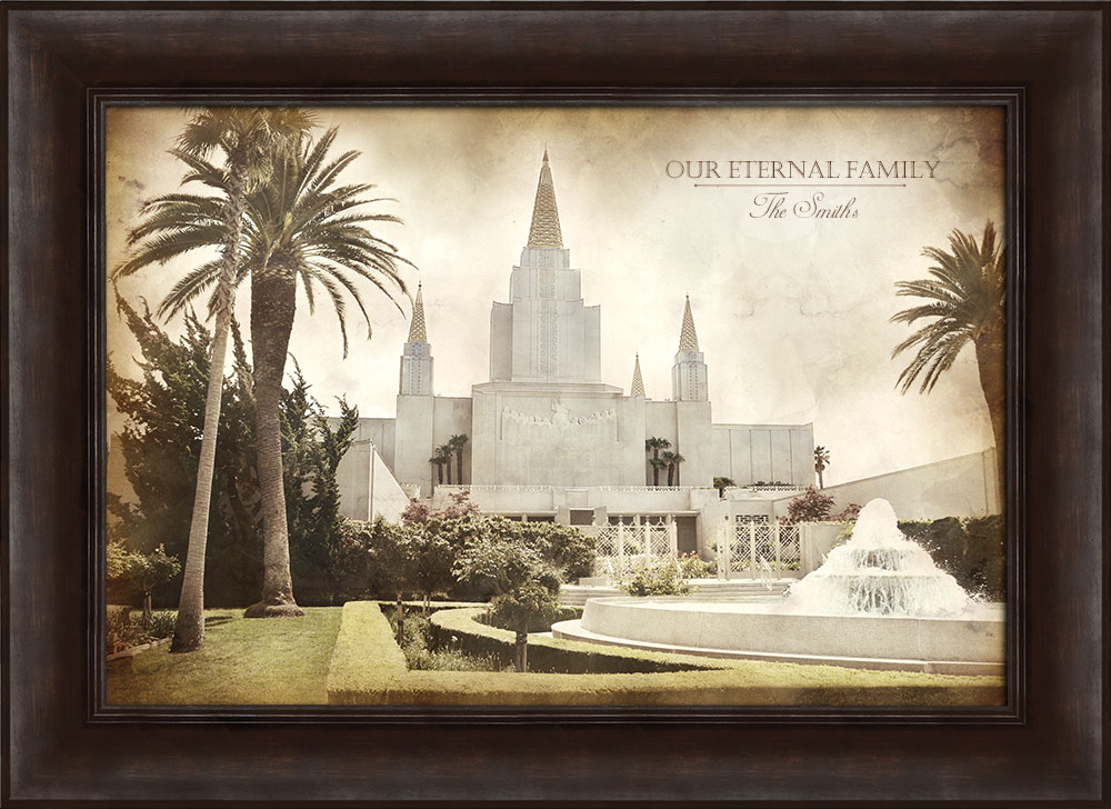 LDS Framed Art | Beautiful Images of the Savior, Temples, Church ...