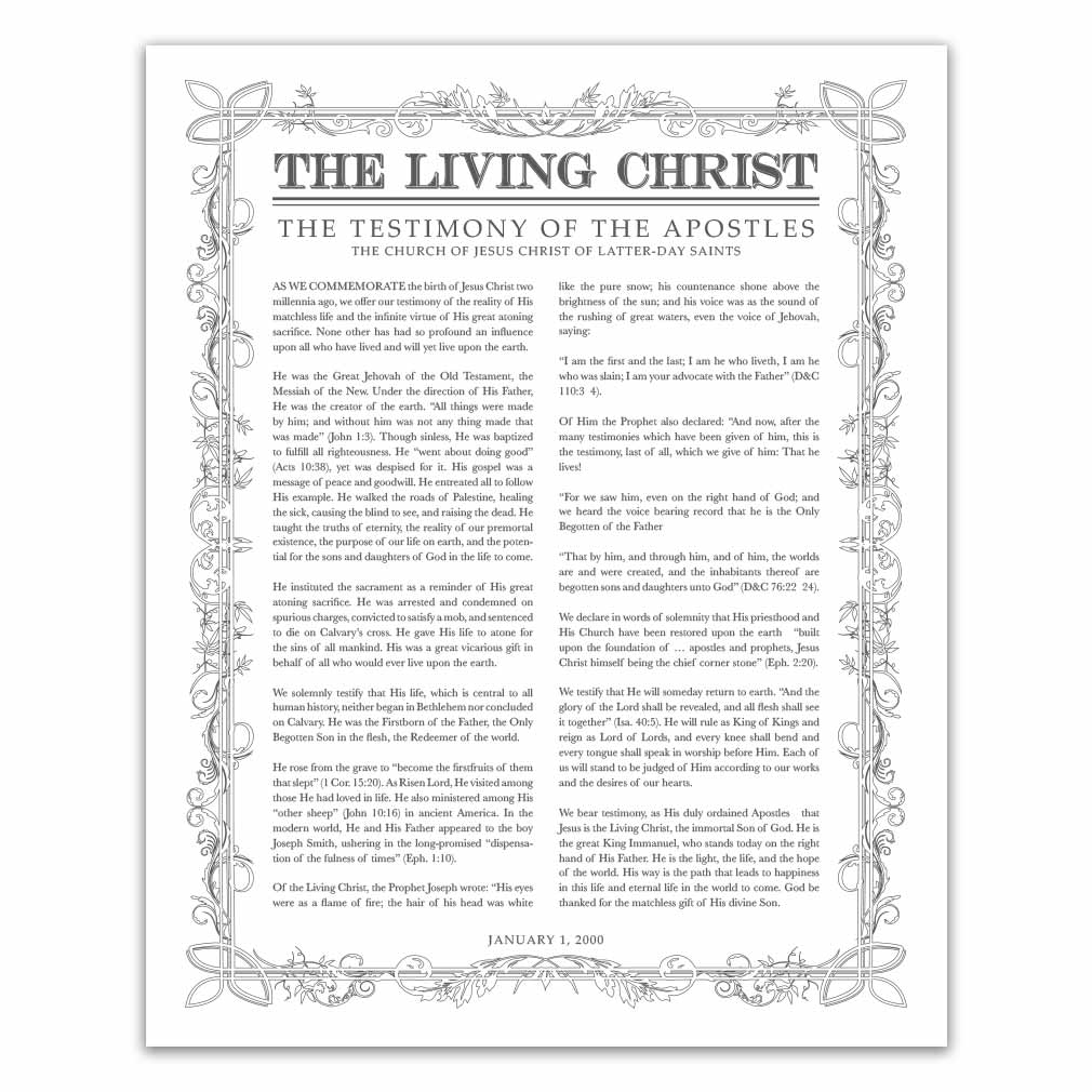 It is a photo of Peaceful The Living Christ Printable