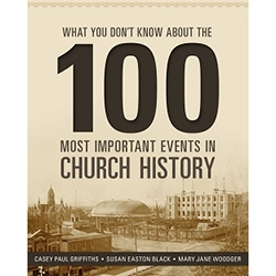 What You Dont Know About the 100 Most Important Events in Church History