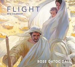 2018 Flight Calendar - Rose Datoc Dall