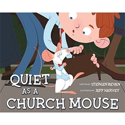 Quiet as a Church Mouse quiet as a church mouse book, lds childrens book, hardcover childrens book