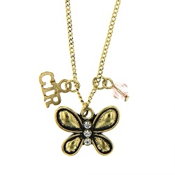CTR Butterfly Gems Necklace