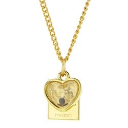Mustard Seed Necklace - Heart