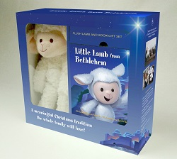The Little Lamb from Bethlehem Book and Plush Lamb Gift Set
