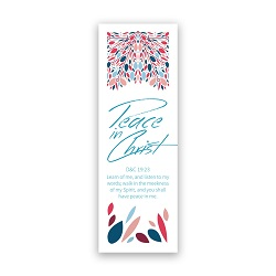 2018 Peace in Christ Bookmark