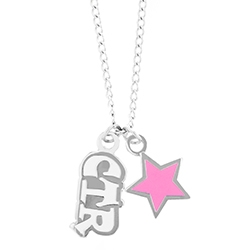 CTR Pink Star Necklace