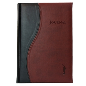 Two Tone Moroni Journal - Burgundy