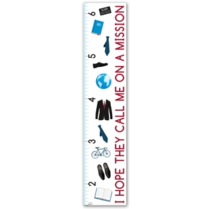I Hope They Call Me on a Mission Children%27s Growth Chart - Elders