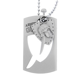 Armor of God Dog Tag