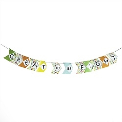 Great to be Eight Bunting Banner