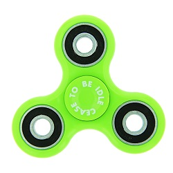 Cease to be Idle Fidget Spinner - Green