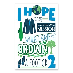 I Hope They Call Me On a Mission Poster (Elders) i hope they call me on a mission poster, i hope they call me on a mission, lds primary poster, lds primary gifts, lds primary decor
