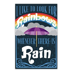 I Like to Look for Rainbows Poster i like to look for rainbows poster, i like to look for rainbows printable, lds primary printable