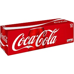 12 oz. Cans of Coca-Cola - 12 Pack