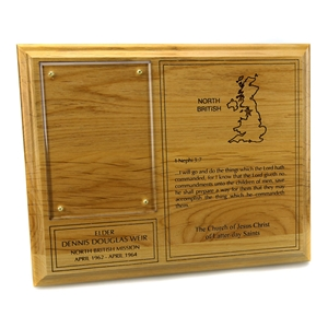 Missionary Plaque - 8 x 10
