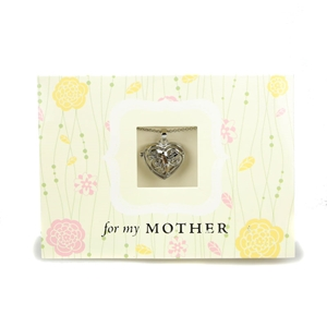 Mothers Heart Locket with Card