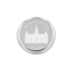 Personalized Temple Pin - Silver/Gold Temple pin, create your own temple pin, lds temple pin
