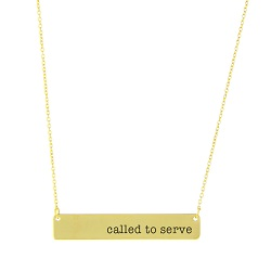 Called to Serve Bar Necklace