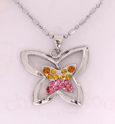 Child of God Butterfly Necklace