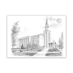 Boston Massachusetts Temple Recommend Holder