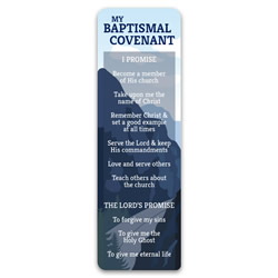 Boy's Baptismal Covenant Bookmark