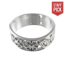 April Flowers CTR Ring