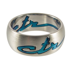 Blue Signature CTR Ring