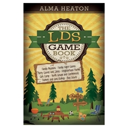 The LDS Game Book - eBook fhe book, family home evening book, family home evening ideas, lds game book, lds game book ebook