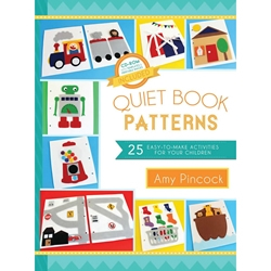 Quiet Book Patterns: 25 Easy-to-Make Activities for Your Children - eBook quiet book patterns, craft book