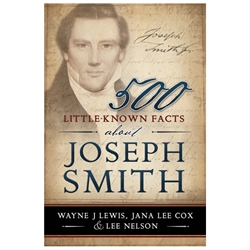 500 Little-Known Facts about Joseph Smith - eBook ebook, joseph smith, joseph smith ebook, facts about joseph smith