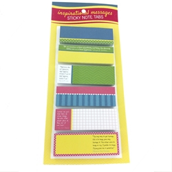Inspirational Messages Sticky Note Tabs