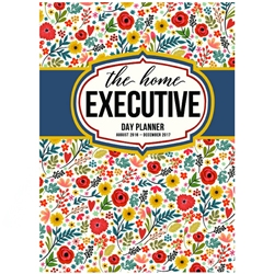 Home Executive Planner August 2016 - December 2017 home planner, planner, calendar, 2016 planner, 2017 planner, executive planner, executive calendar