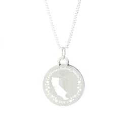 California Mission Necklace - Silver/Gold