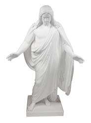 "19"" Marble Christus Statue christus statues, christus statue, christus, lds christus, mormon christus, deseret book christus, one moment in time christus"