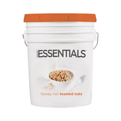 Honey Nut Toasted Oats Cereal Bucket