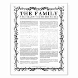 Filled Leaf Family Proclamation family proclamation, family proclamation to the world, the family proclamation, filled leaf, leaf, black family proclamation, gold family proclamation, charcoal family proclamation