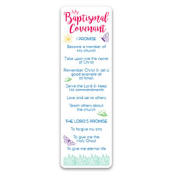 Girls Baptismal Covenant Bookmark lds bookmarks, lds bookmark, bookmark, bookmarks, baptism bookmark, lds baptism bookmark, baptism covenants, baptismal covenants