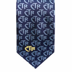 Mens Blue CTR Necktie