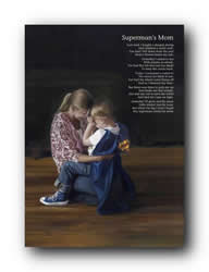 Supermans Mom (Poem) - Print