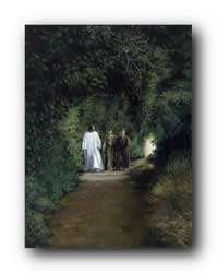 The Road To Emmaus - Print