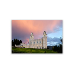 Manti Temple Recommend Holder