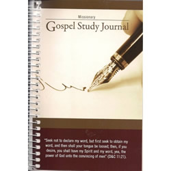 Missionary Gospel Study Journal