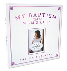 My Baptism Memories and First Journal - Girl