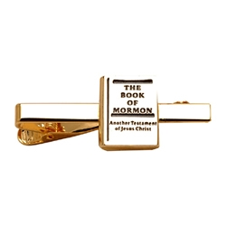 Book of Mormon Tie Clip - Gold