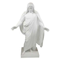 "10"" Marble Christus Statue christus statues, christus statue, christus, lds christus, mormon christus, deseret book christus, one moment in time christus"