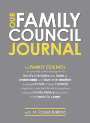 Our Family Council Journal - DBD-5169760