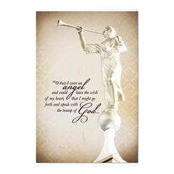 Angel Moroni Program Cover lds program cover, lds ward bulletin covers, ward bulletin covers