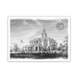Payson Utah Temple Recommend Holder