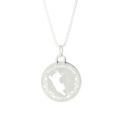 Peru Mission Necklace - Silver/Gold lds peru mission jewelry
